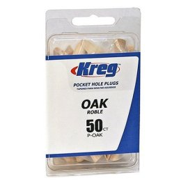 Kreg P-OAK Oak Plugs for Pockets (50-Pack)