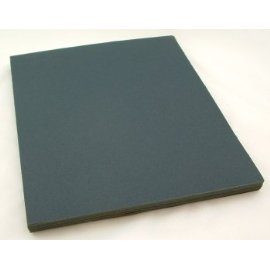 Wet or Dry Sandpaper Sheets, Silicon Carbide, 9 by 11, 220 Grit, Pack of 50.