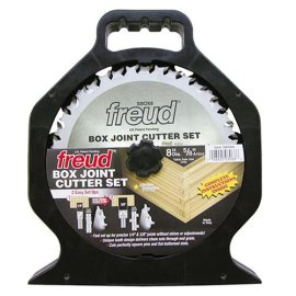 Freud SBOX8 Box Joint Cutter Set. Cuts 1/4 and 3/8 grooves.