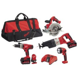 Milwaukee V28 4-Piece Combo Kit (0928-29)