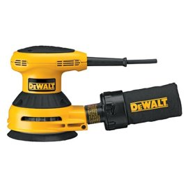 DEWALT D26451K 5 Random Orbit Sander Kit with Hook & Loop Pad and Dust Collection