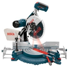 "Bosch 4212L 12"" Dual Bevel Compound Miter Saw with Laser Tracking"