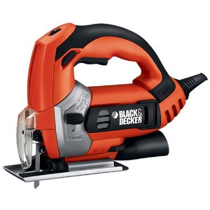 Black & Decker JS600B 4.5 Amp EVS Orbital Jig Saw with Storage Bag