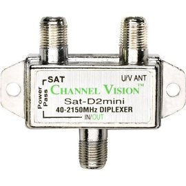 Channel Vision SAT-D2 Indoor Satellite Diplexer