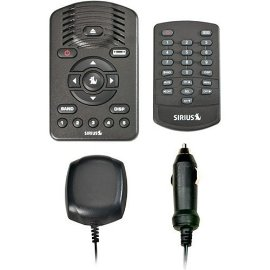Sirius One SV1 Satellite Radio with Car Kit - Black