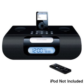 jWIN iLuv Electronics I177BLK iPod Speaker System (Black)