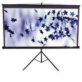 Elite Screens 119 Tripod Portable Screen - White (T119NWS)