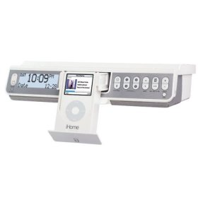iHome IH36W Under-Counter iPod Player - White
