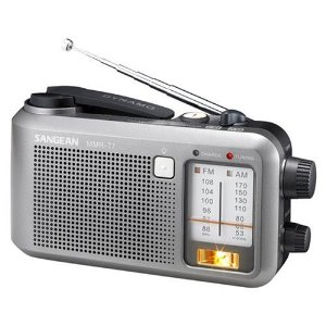 Sangean MMR-77 Emergency AM / FM Portable Radio