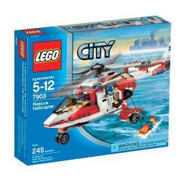 LEGO Play Themes LEGO City: Rescue Helicopter (7903)