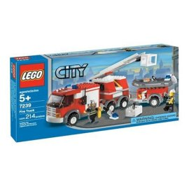 Lego Adventures City Fire Truck (7239)