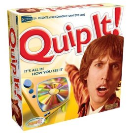 Quip It! An outlandish DVD Game of Quips and Captions