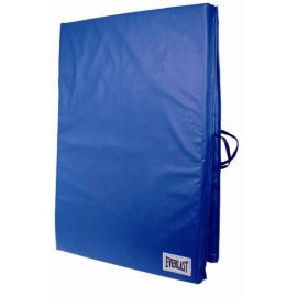 Everlast Folding Exercise Mat (2' x 6') - Blue