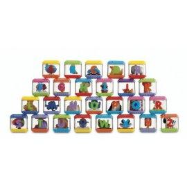 Peek A Blocks Alphabet Blocks