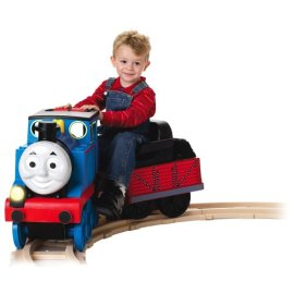 Thomas Track Rider Engine Ride-On Train Set