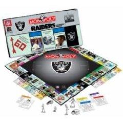 Monopoly: Oakland Raider Collector's Edition