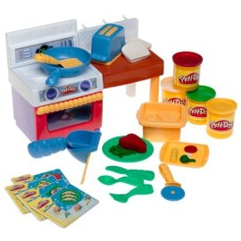 Playdoh Fun with Food Kitchen