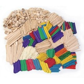 Wood Crafts Activity Classroom Pack