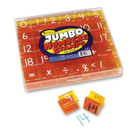 Jumbo Number & Operations Stamps