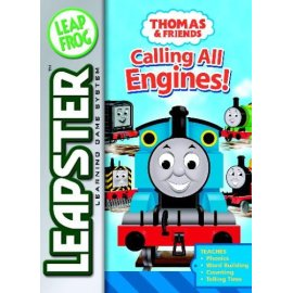 Leapster Book: Thomas the Tank Calling All Engines