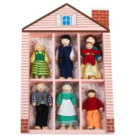 Happy Family Dolls in a Box