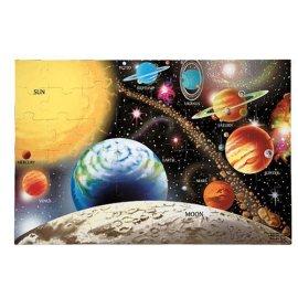 48-piece Deluxe Solar System Cardboard Floor Puzzle