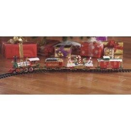 Musical Santa Land Train Set