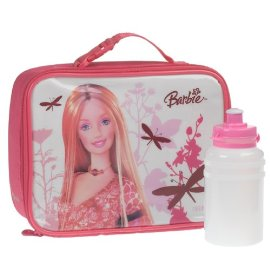 Barbie Dragonflies Lunch Kit: Pink