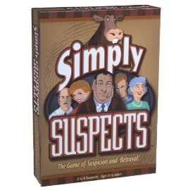Simply Suspects -The Game Of Suspicion and Betrayal!