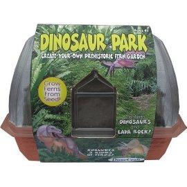 Mini Windowsill Greenhouse - Dinosaur Park