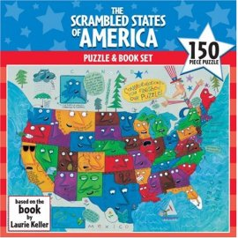 Scrambled States of America Puzzle