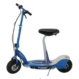 Razor E300S Seated Electric Scooter (Blue)