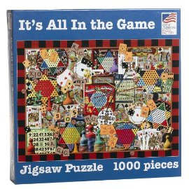 It's All in the Game 1000 Piece Puzzle