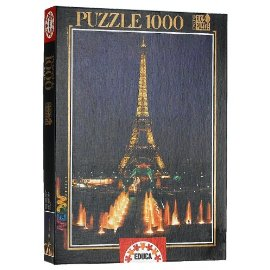 Eiffel Tower, Paris 1000 Pc Puzzle