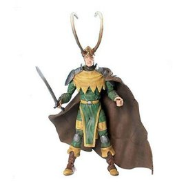 Marvel Legends Onslaught Series 13 Action Figure Long Horn Loki