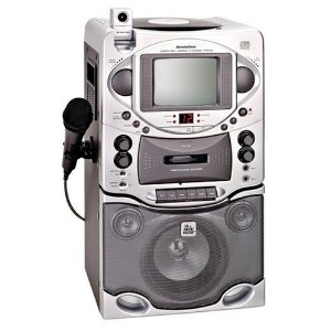 Singing Machine STVG-535 Karaoke System with Built In Video Camera