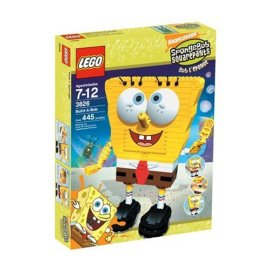 Lego SpongeBob and Plankton's Adventure (3842)