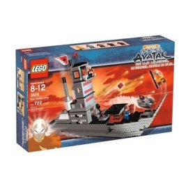 Lego Avatar the Last Airbender - Fire Nation Ship #3829