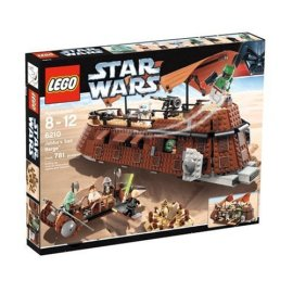 Jabba's Sail Barge-LEGO Star Wars Theme Play Kits  (6210)