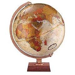 Northwoods Globe- Bronze Metallic