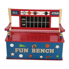 All Star Toy Box Bench