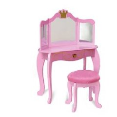 KidKraft Princess Diva Table and Stool