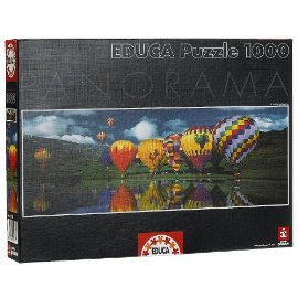 Balloons Over the Lake 1000pc Puzzle