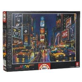 Times Square 1000 Pc Puzzle Neon