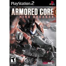 PS2 Armored Core Nine Breaker