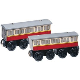 Learning Curve Thomas & Friends Wooden Railway Express Coaches - 99088