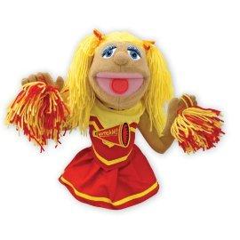 Deluxe Cheerleader Hand Puppet
