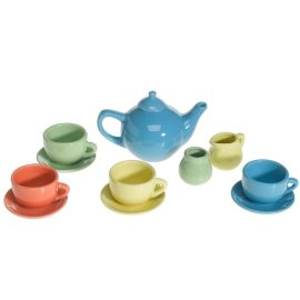 Porcelain Tea Party Set for 4