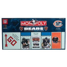 Monopoly: Chicago Bears Collector's Edition