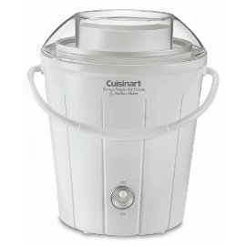 Cuisinart ICE-25 Classic Frozen Yogurt, Ice Cream & Sorbet Maker - White